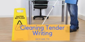 Winning Cleaning Tenders