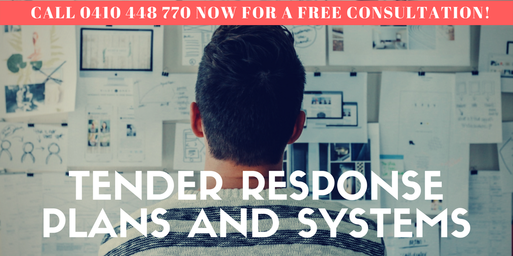Tender response systems and and plans