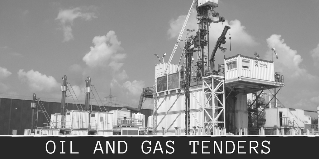 OIL AND GAS TENDERS