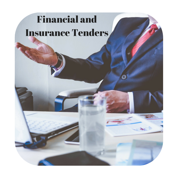 Financial and insurance tenders