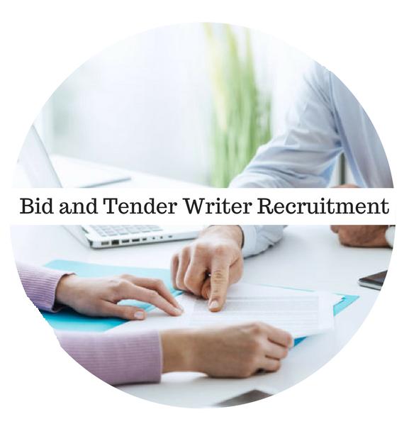 Bid and Tender Writer Recruitment