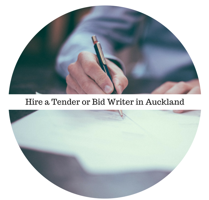 Hire a Tender or Bid writer in Auckland