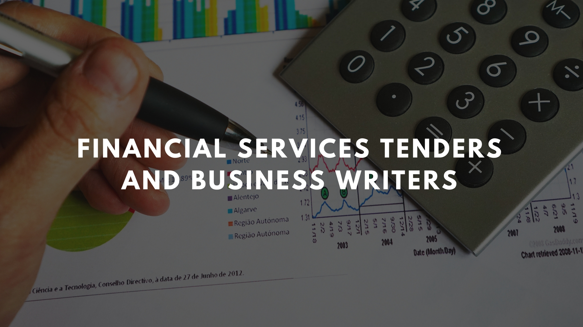 financial services tenderand business writers