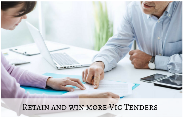 win and retain more vic tenders