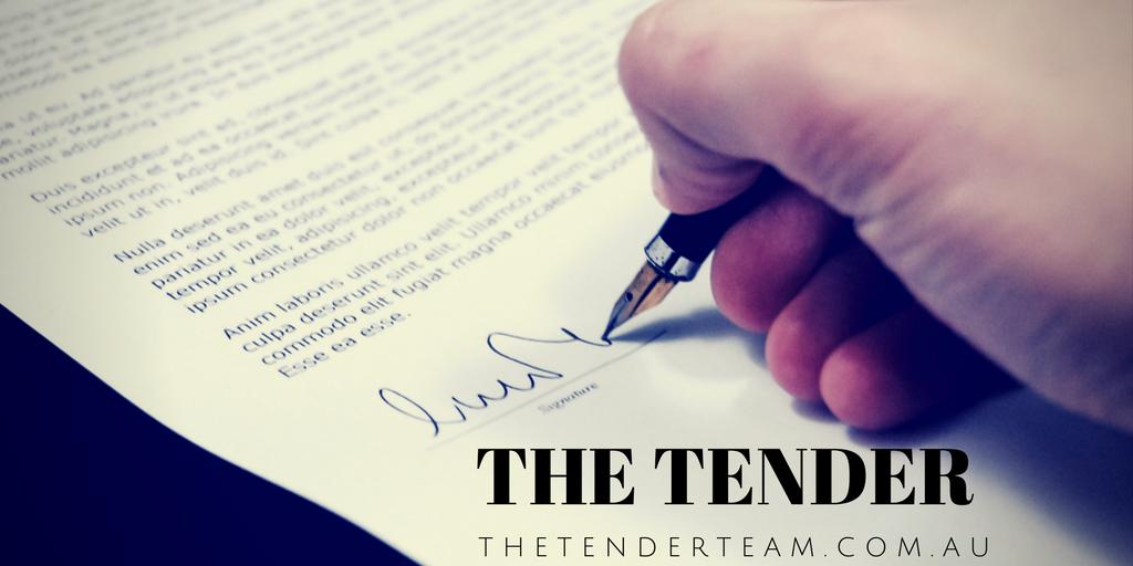 The tender