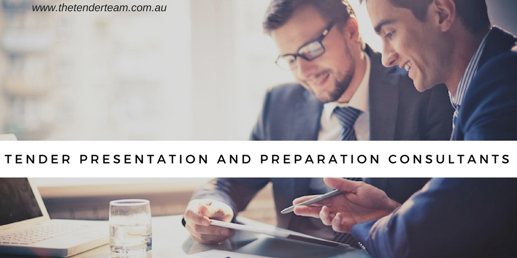 Tender presentation and preparation consultants
