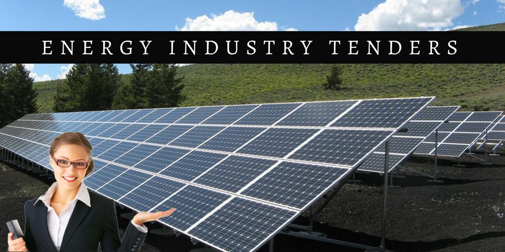 Energy Industry Tenders