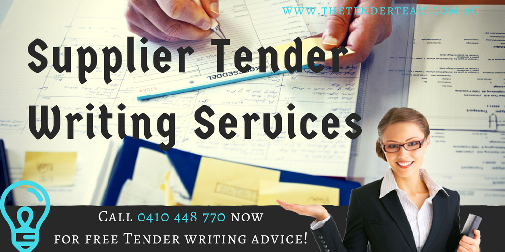 Supplier Tenders