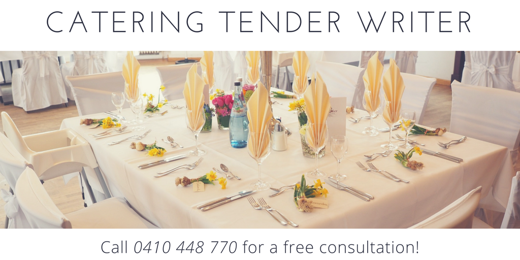 Catering Tender Writers
