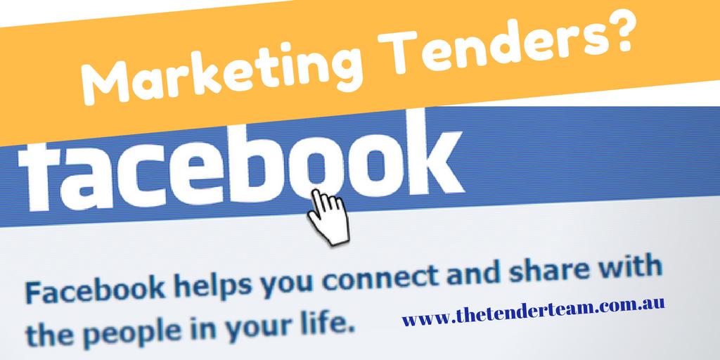 Marketing tenders