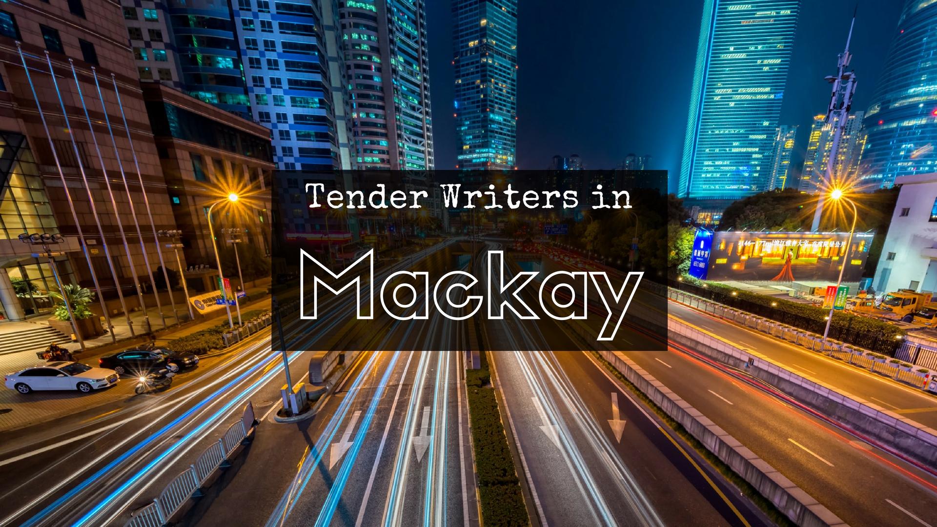 Tender Writer In Mackay